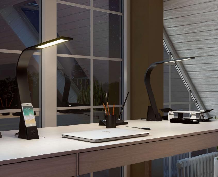 Minimalist Lamp Product Visualization