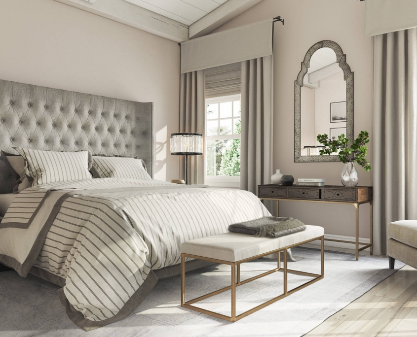 Bedroom 3D Rendering