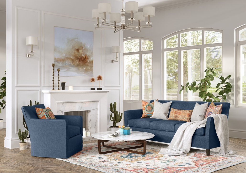 Lifestyle Product Image for a Clarissa Soft Furniture Set