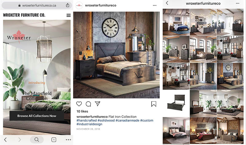 Product Visualizations for Instagram