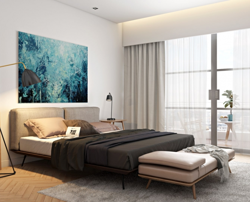 Lifestyle Interior Scene for a Product