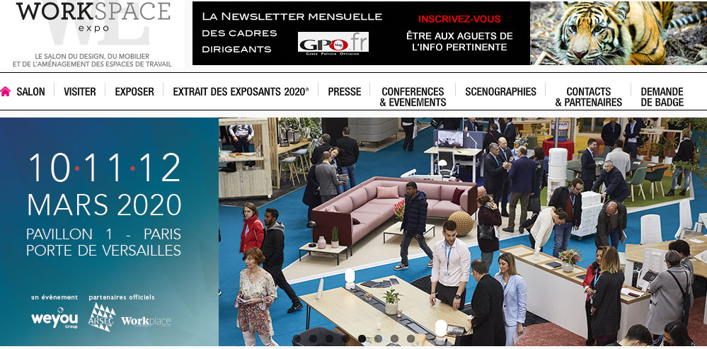 Workspace Expo Paris 2020