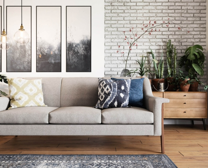 Sofa Product Image for E-Commerce