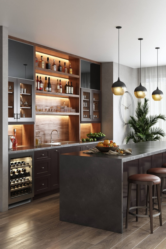 Lifestyle Image for a Kitchen Bar