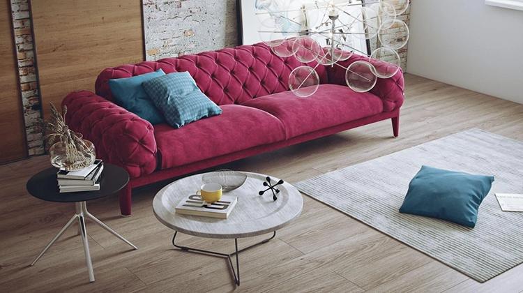 A Modern Sofa Render