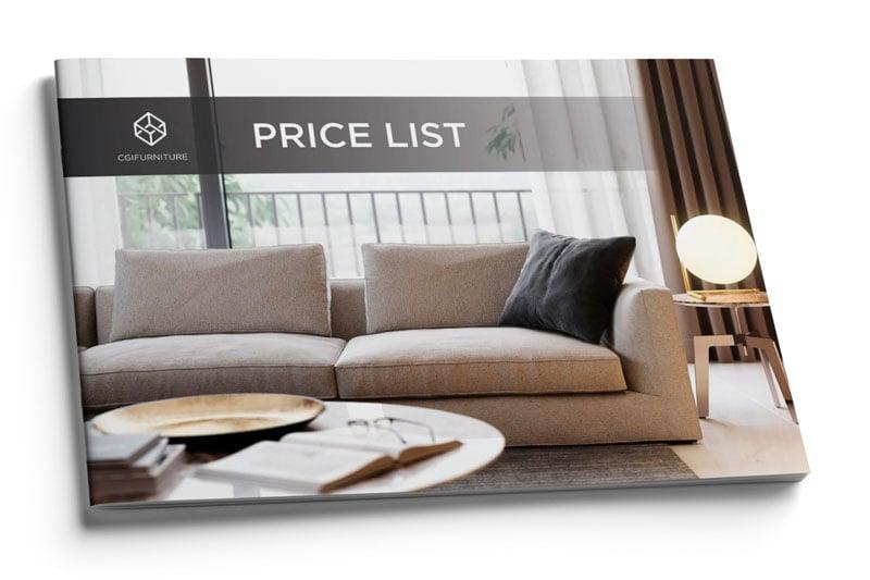 Product rendering pricelist