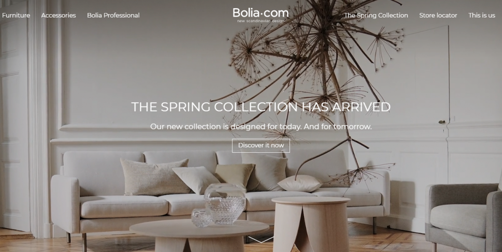 Online Furniture Shop Bolia