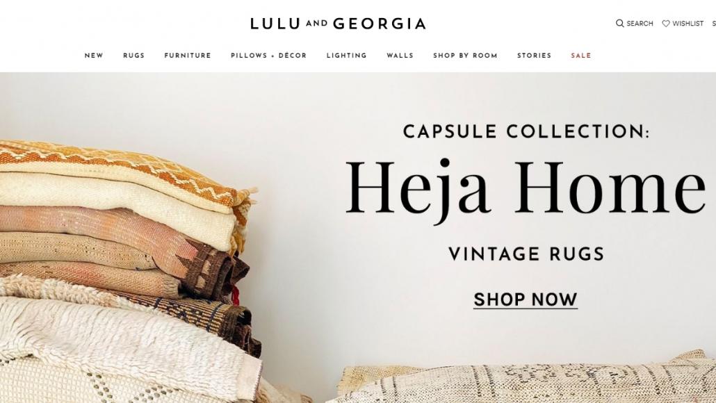 Lulu and Georgia Furniture Site