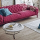 3D Render of a Pink Sofa