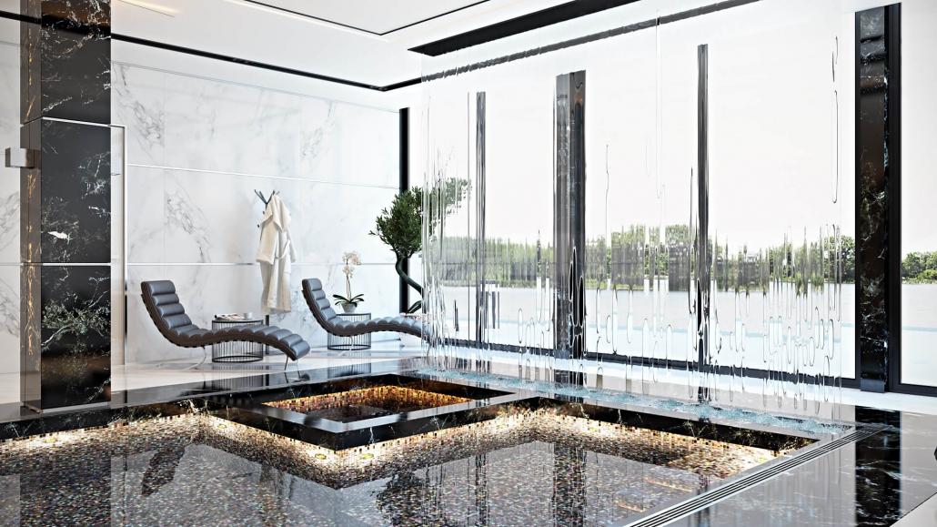 3D furniture renders: Target VIP