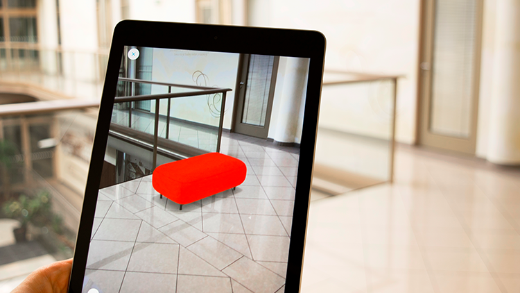 AR for online furniture shopping