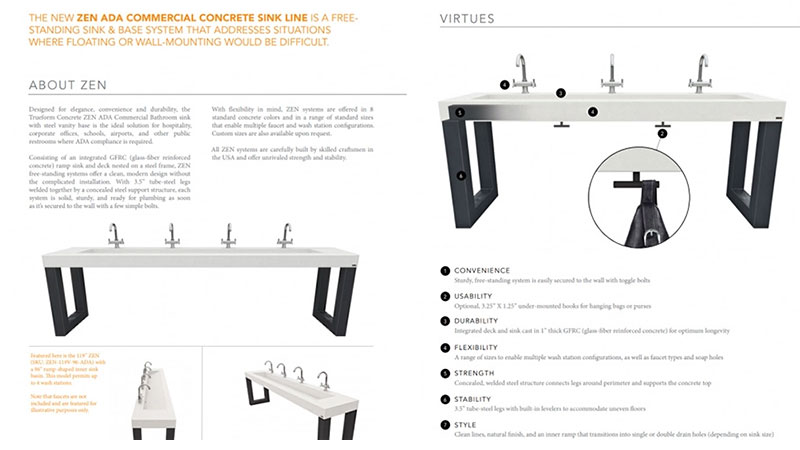 Several Shots of a Sink for a Manufacturer's Website