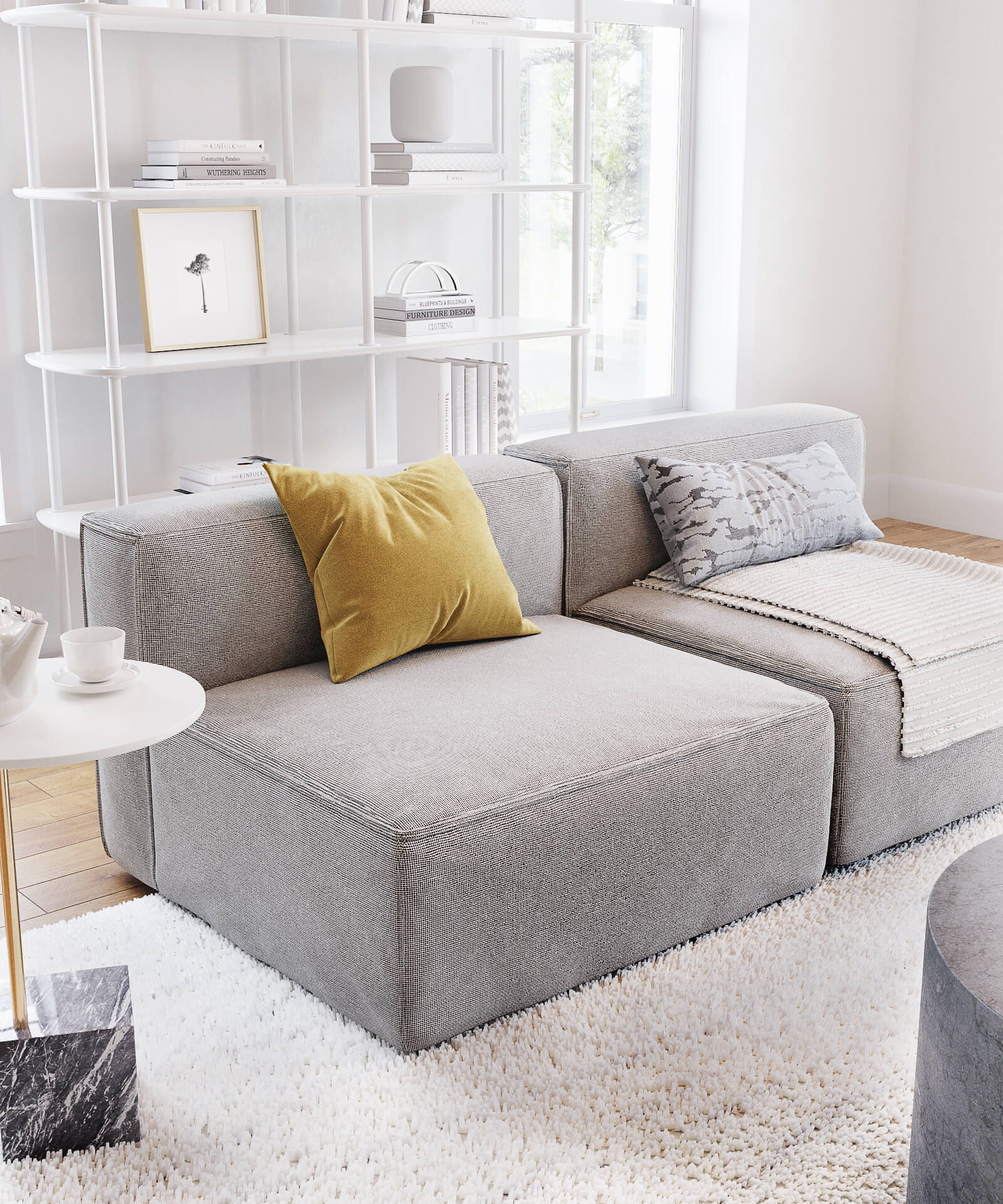 Sofa Product Image for Marketing Campaigns
