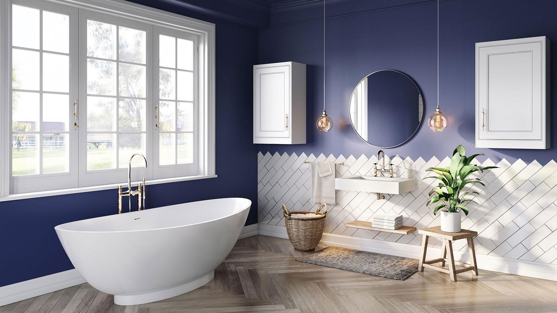 3D Modeling for Modern Bathroom Furniture