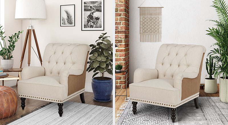 A 3D Configurator with Different Roomsets for a Classic Armchair