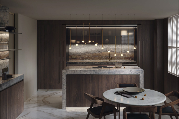 Photoreal Kitchen Design CG Render