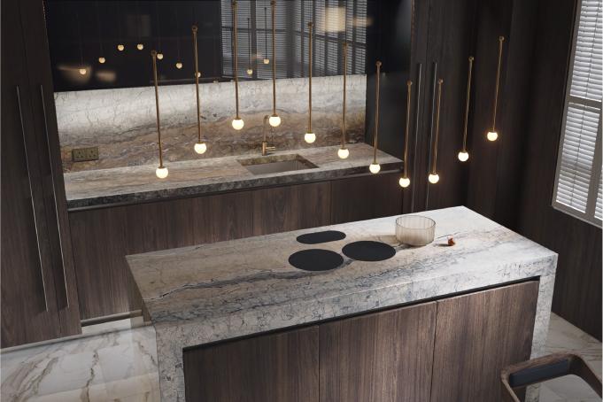 Stunning Kitchen Design 3D Visualization