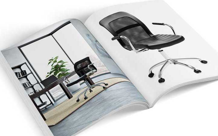 Product Catalog Showing Single-Standing 3D Model and a Lifestyle