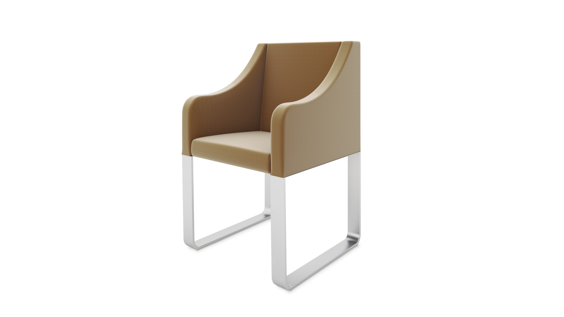 Chair 3D Silo Rendering