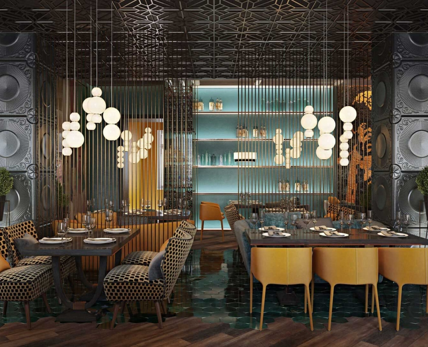 Product Lifestyle for Restaurant Furnishings
