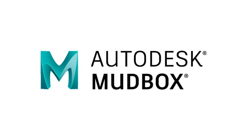 A Logo of Autodesk Mudbox 3D Texturing Tool