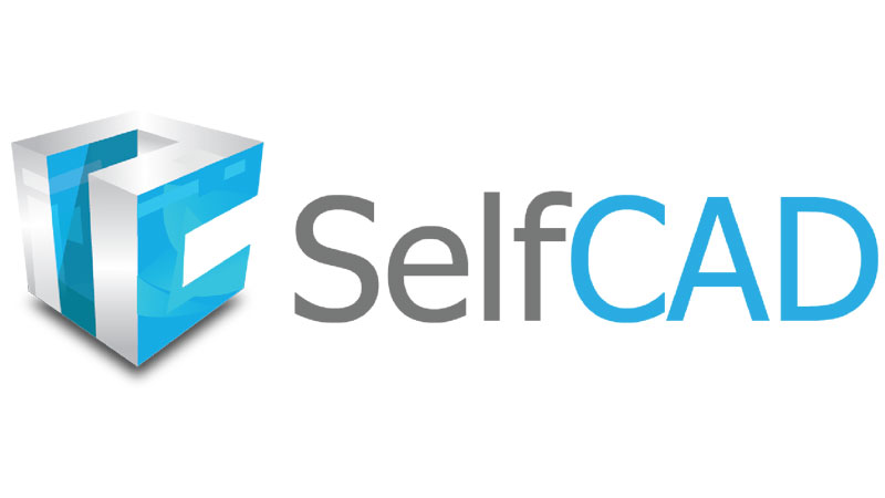 A Logotype of SelfCAD Tool Used for Sculpting and 3D Texturing