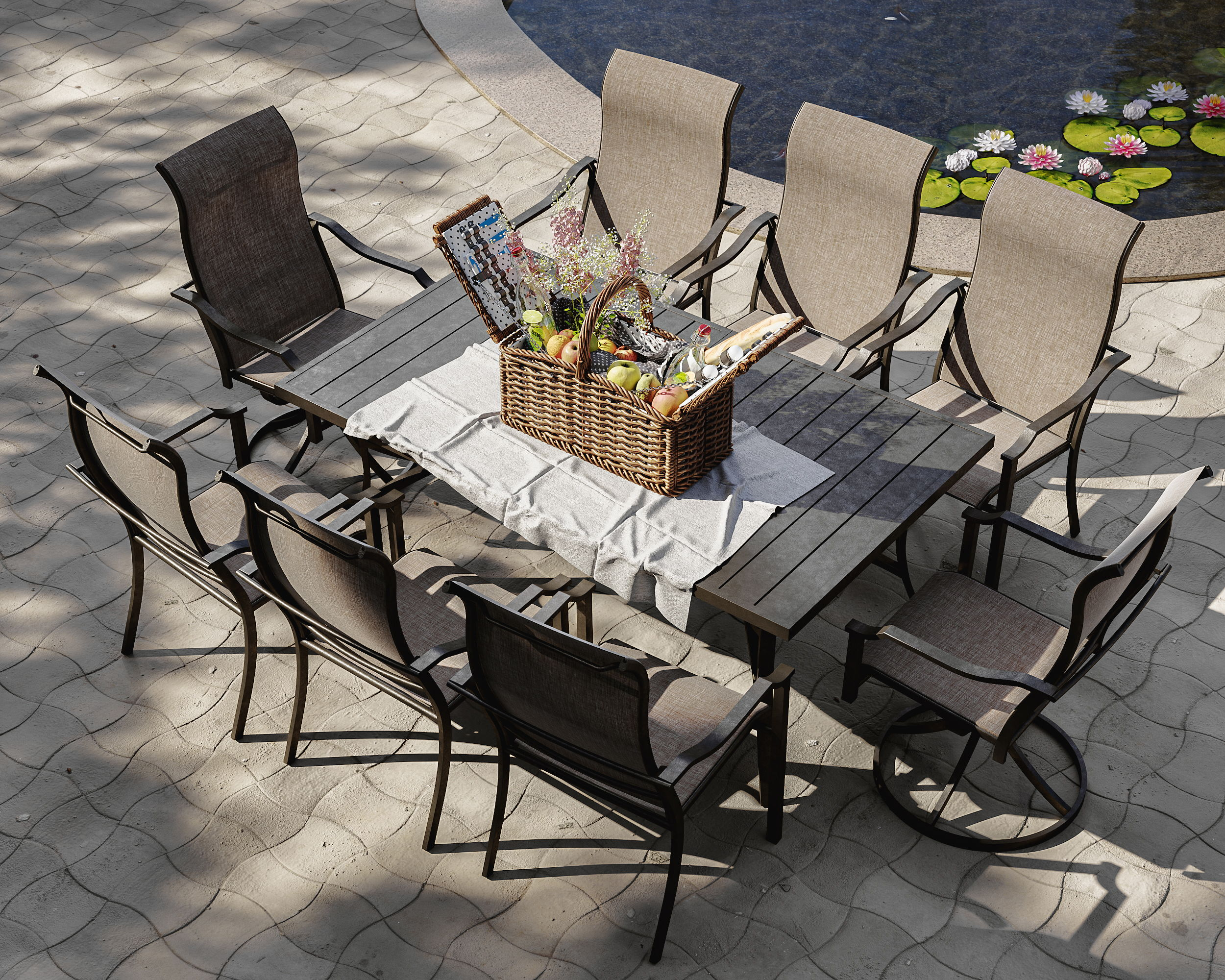 3D Visualization for Outdoor Furniture
