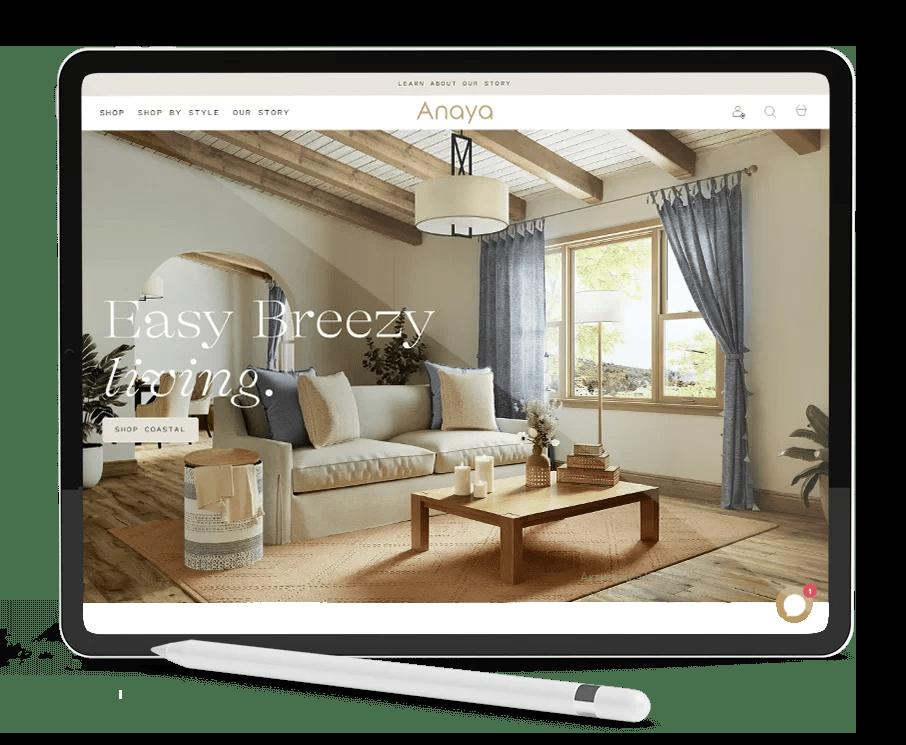Anaya's Home Furniture and Decor Furniture Renders