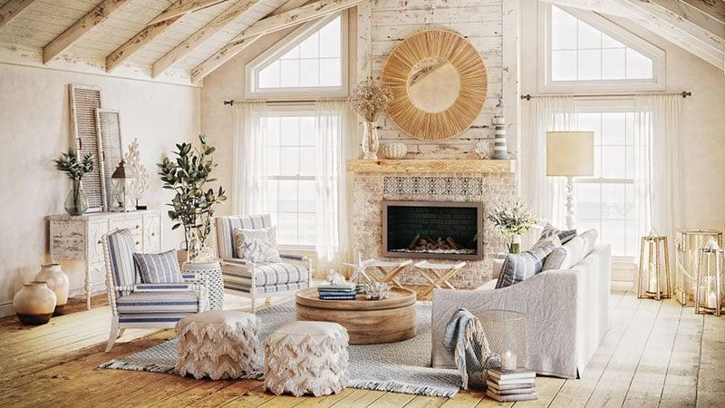 Coastal Interior Design for a Country Home
