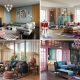 A Collage of Four Eclectic Interiors Design Styles