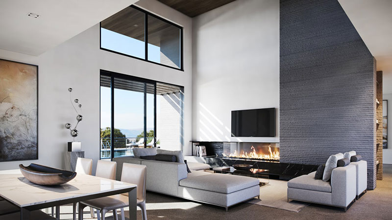 Interior Design for a House in a Modern Style