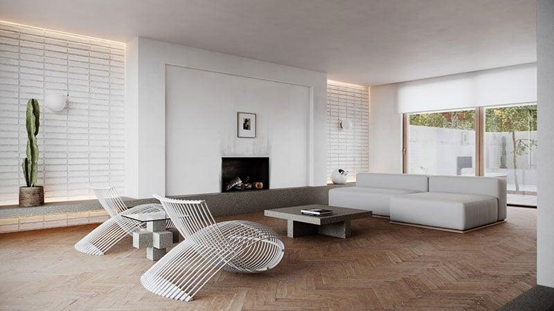 A Modern Home Made in Minimalist Interior Design Style