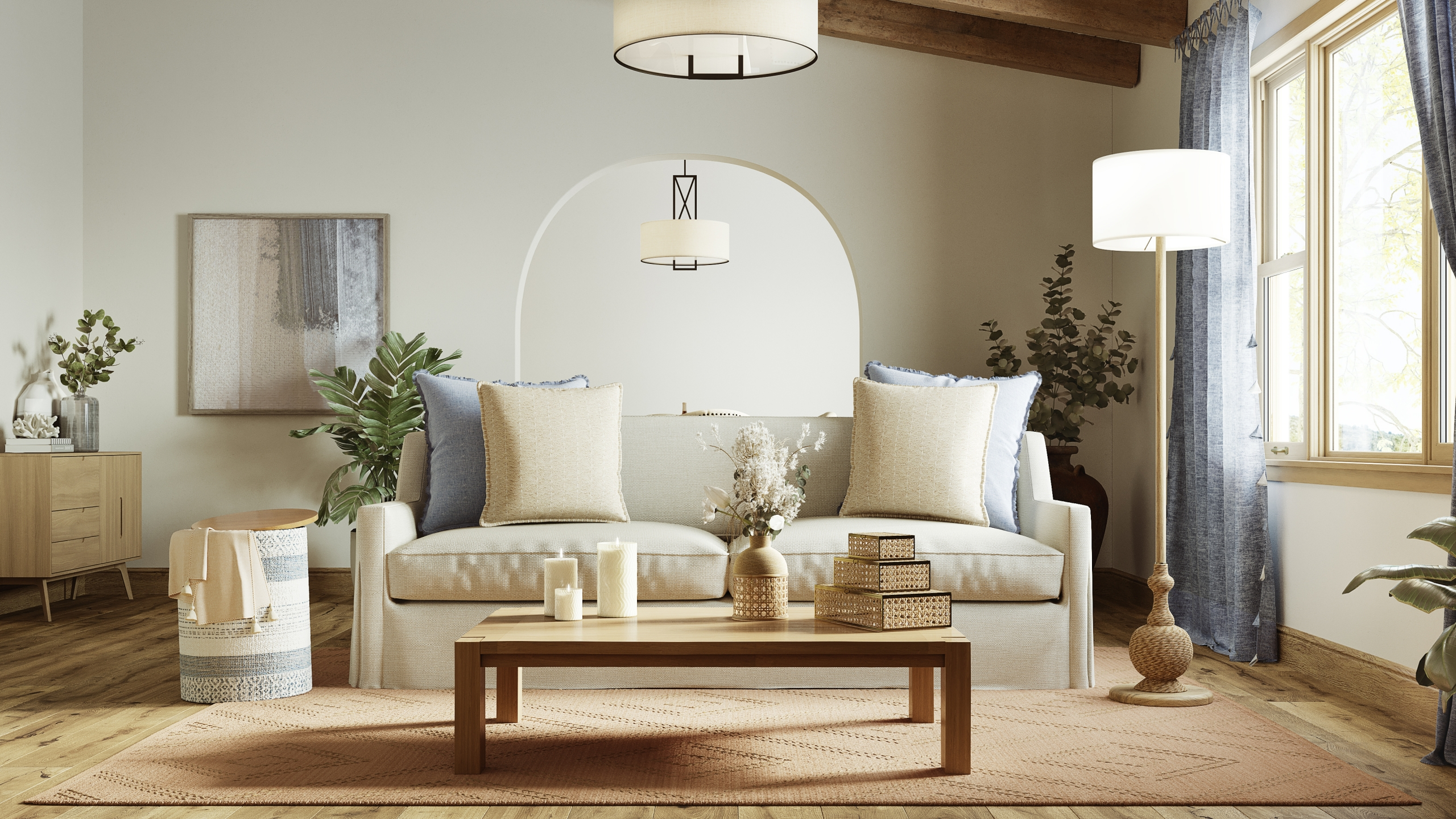 Anaya Furniture and Decor Lifestyle 3D Images