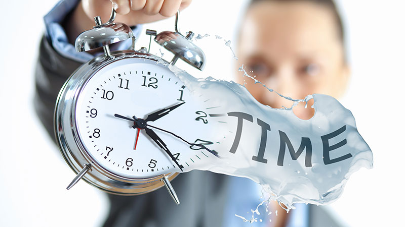 A Person Holding a Clock as Time on 3D Furniture Render Services Goes By