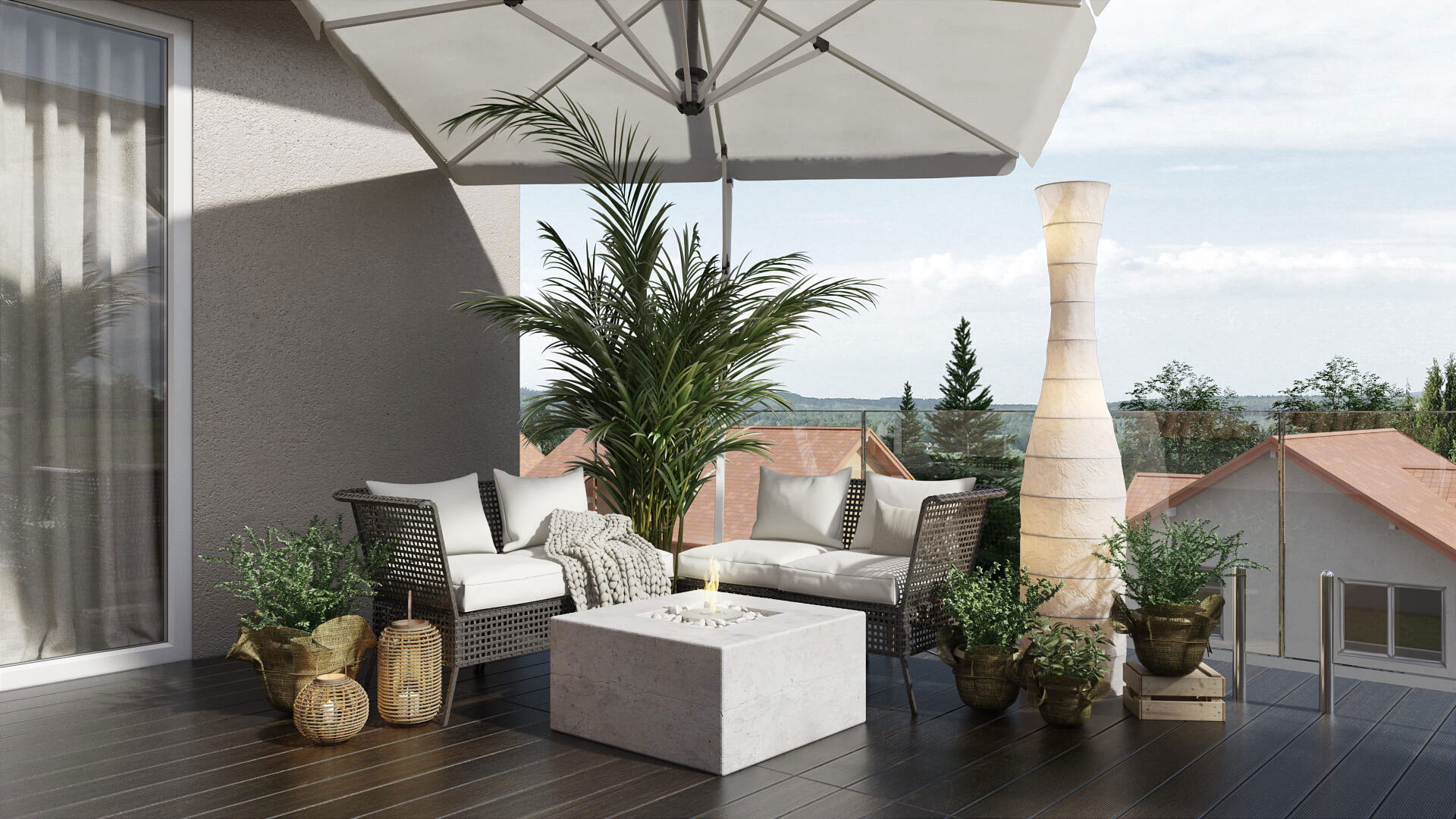 3D Modeling for an Outdoor Products with Modern Design