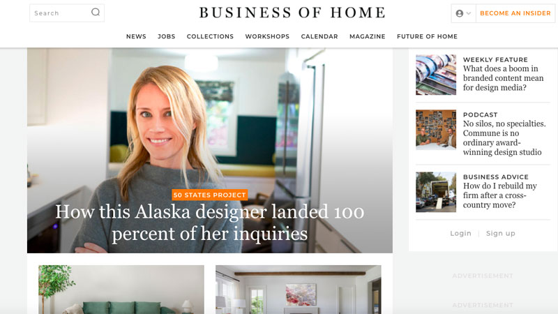 A Sneak Peek of a Business of Home Furniture Online Magazine