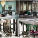 A Collage for Four Luxury Interior Designs