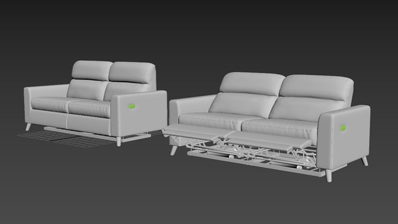 3D Models for a 3D Animation from a Brief