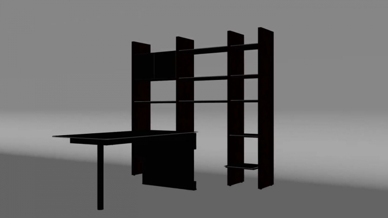 A Viewport from 3D Software for Approving of a Product 3D Model for Animation