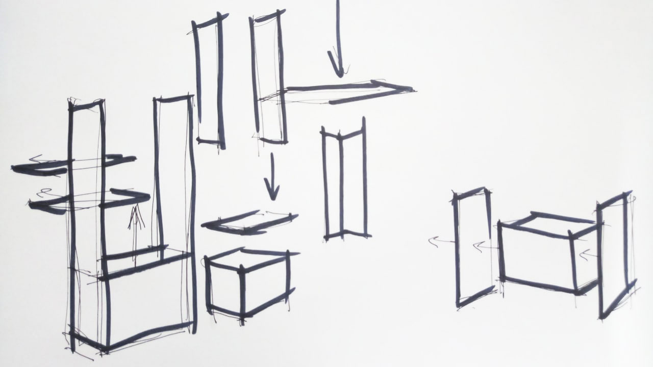 A Sketch for Product 3D Animation from a Brief