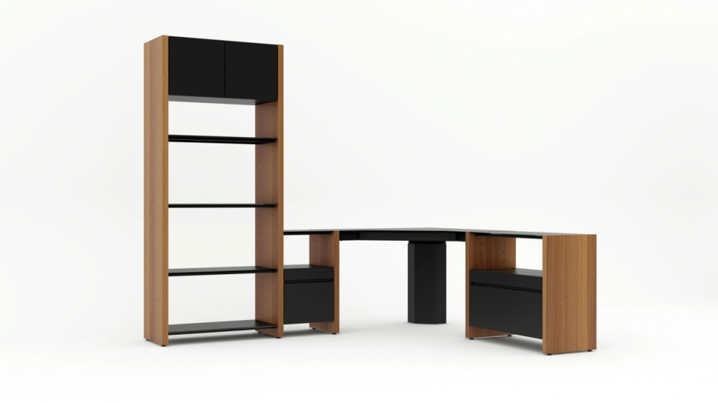A Shot from Product 3D Animation for a Cabinet