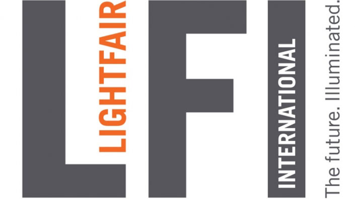 A Logo of a LightFair Furniture and Lighting Exhibition