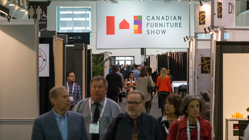 Visitors and Participants of the Canadian Furniture Exhibition
