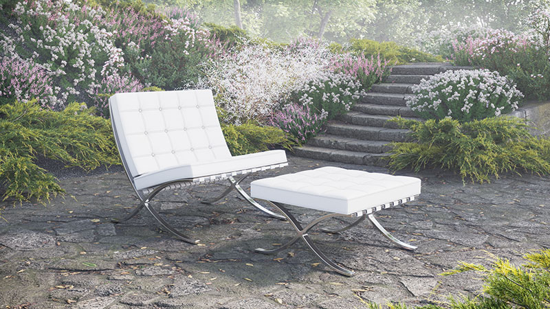3D Rendering of a Product on a Foggy Day