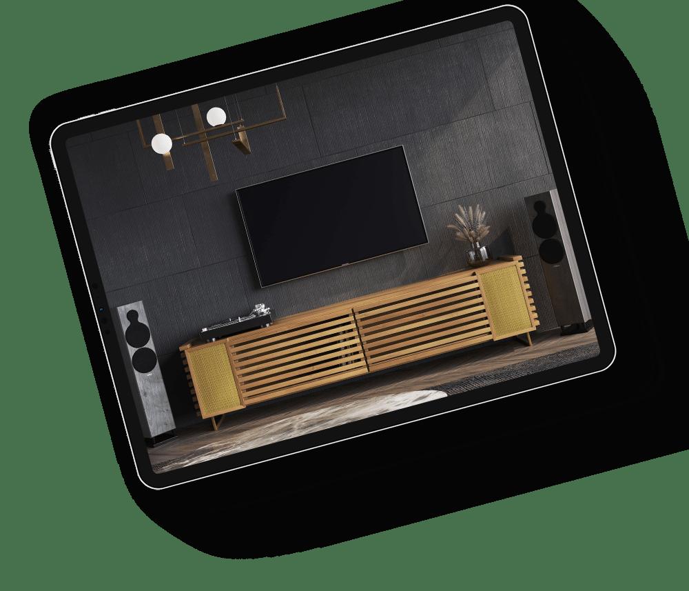 Product 3D Rendering for Deschamps
