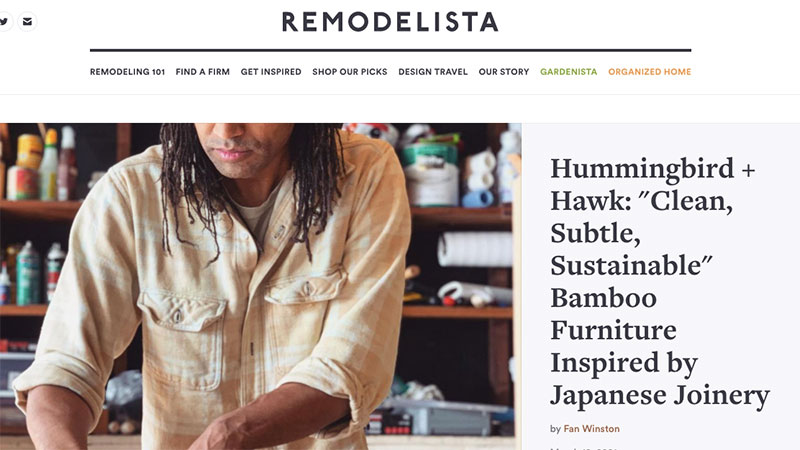 A Front Page of Remodelista Blog with Plenty of Design Categories and Furniture Topics for Inspiration