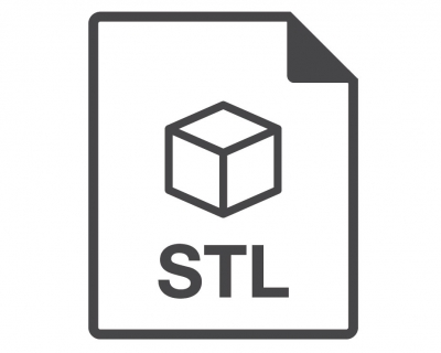 A Vector Image of STL Format of 3D File