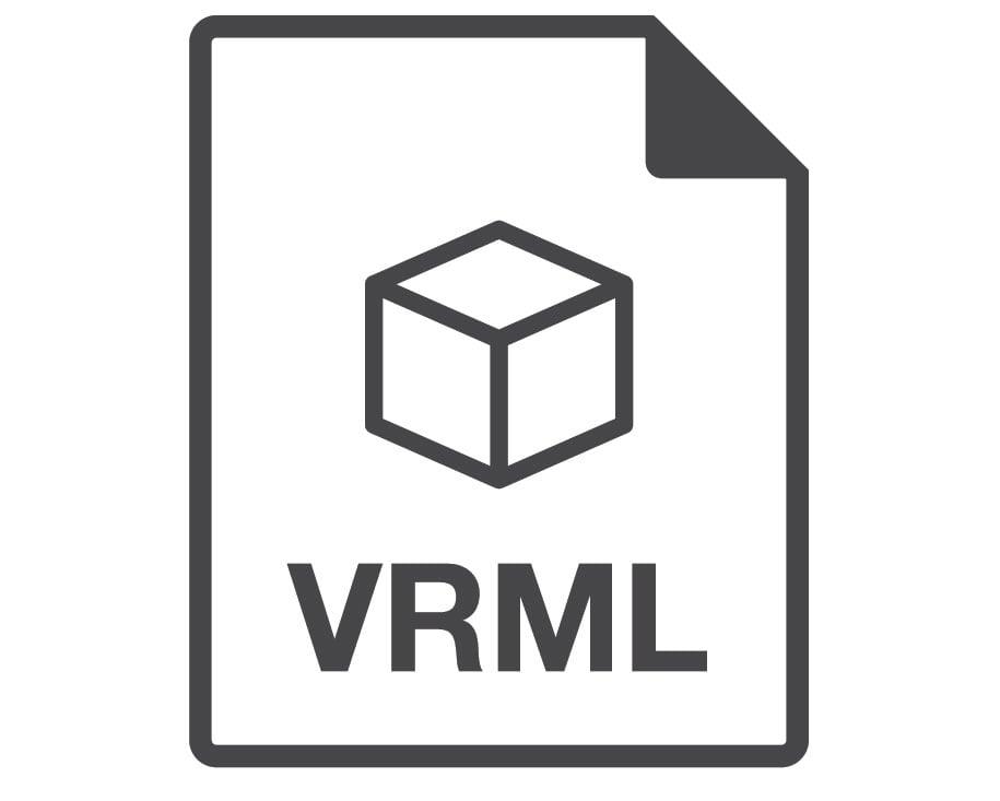 VRML 3D File Format for World Wide Web