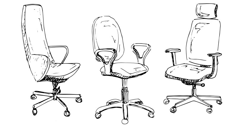 Using A Sketch of a Chair for References to Speed Up the Rendering Project