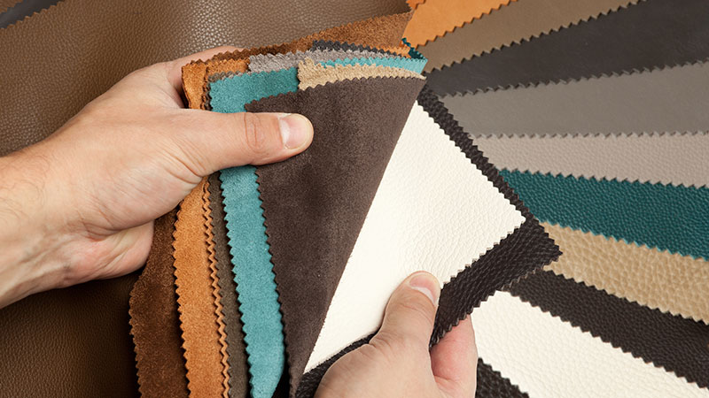 A Man Providing Texture Samples to Speed Up the Project